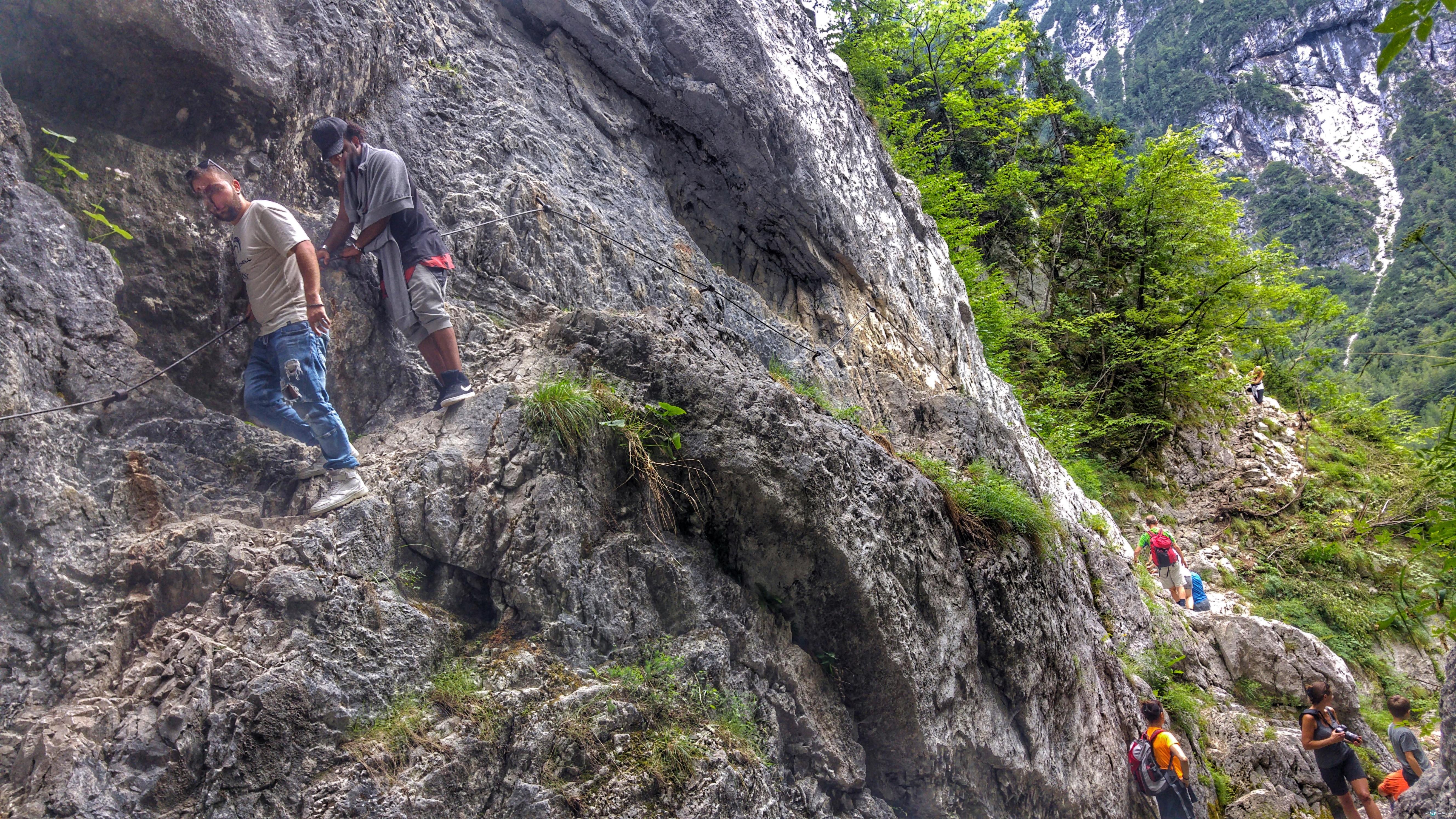 Klettersteig Soca Quelle : Die quelle der soča u mit wordpress ans meer